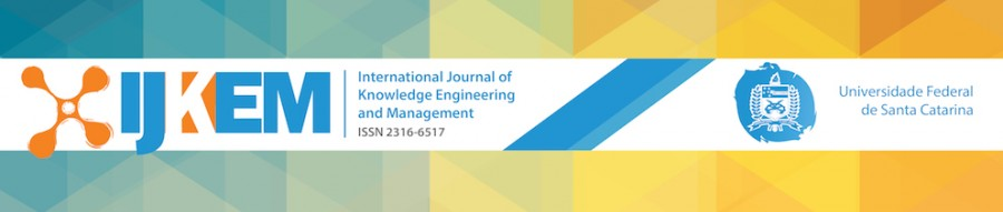 Novo Volume IJKEM – INTERNATIONAL JOURNAL OF KNOWLEDGE ENGINEERING AND MANAGEMENT